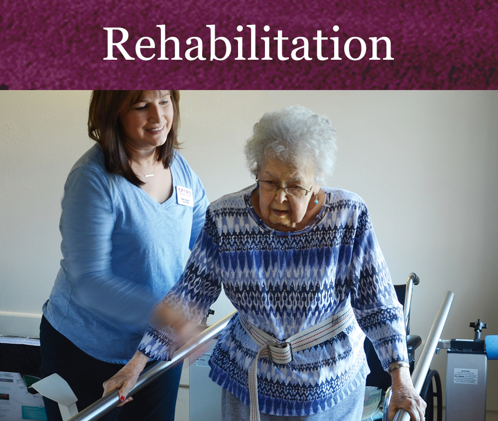 Rehabilitation Services at Pacific Care Center