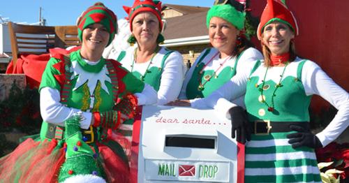 santa's amgic mail box