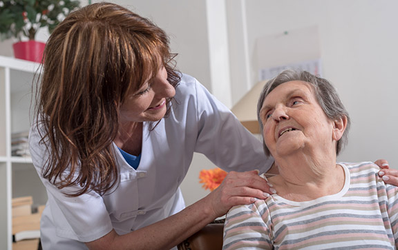 skilled resident care peace of mind