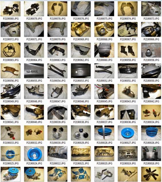 67-68 Mustang Parts