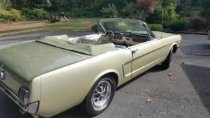 PCMC, Mustang, Convertible, 1965, Pacific Cascade Mustang Club, For Sale