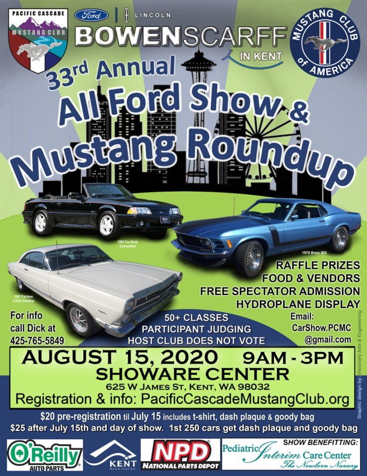 All Ford Show & Mustang Roundup 2020