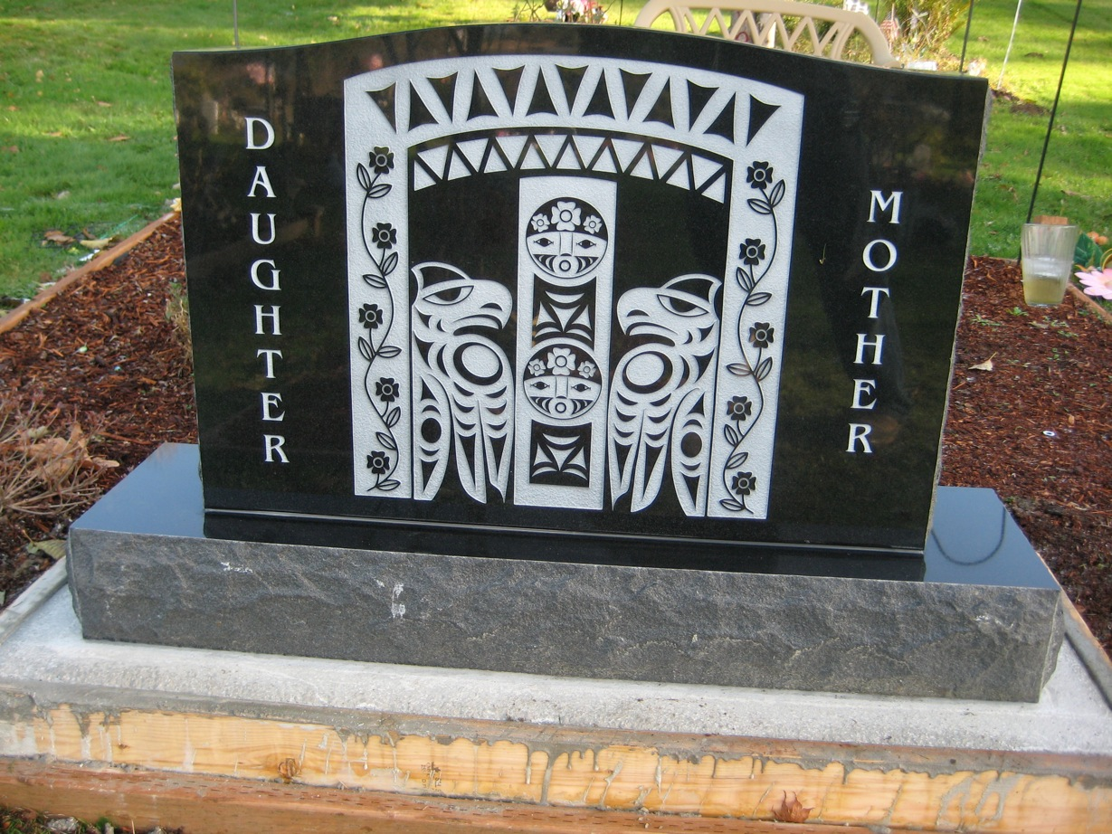Native American Headstones  Monuments  Memorials