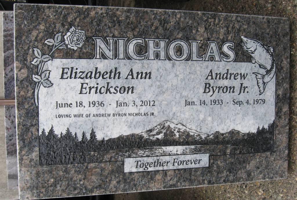 Flat Grave Marker Portfolio  Pacific Coast Memorials