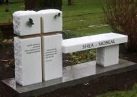 Monument Bench (Monubench) Portfolio | Pacific Coast Memorials