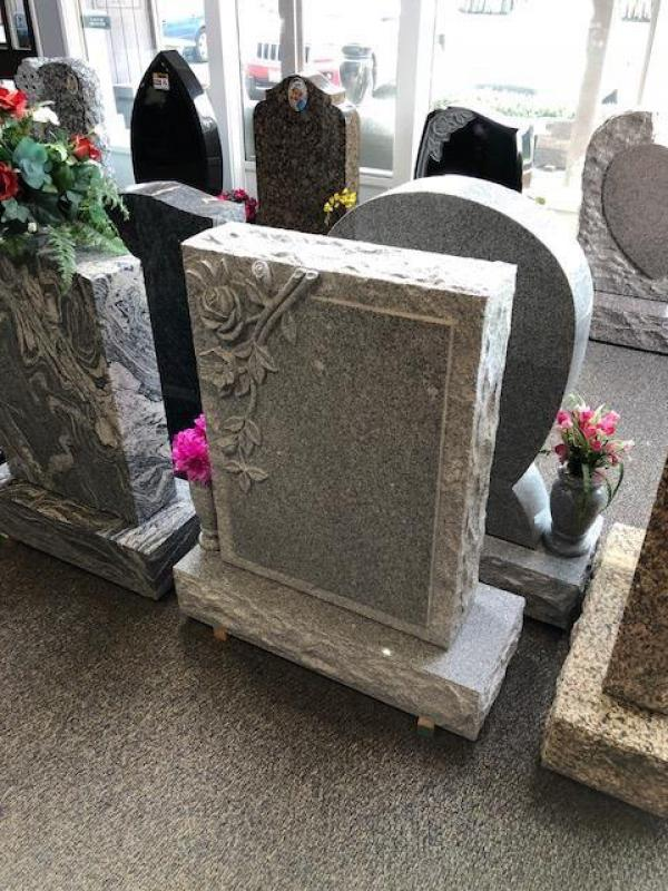 Upright Tablet Headstones  Custom Monuments  Cemetery