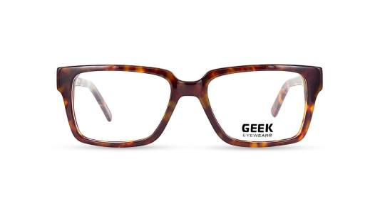 Geek Rogue Tortoise Semi-Square Eyeglasses