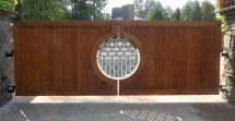 Wooden Driveway Gate Designs