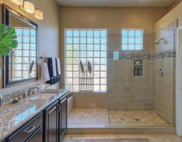 Bathroom Glass Block Windows