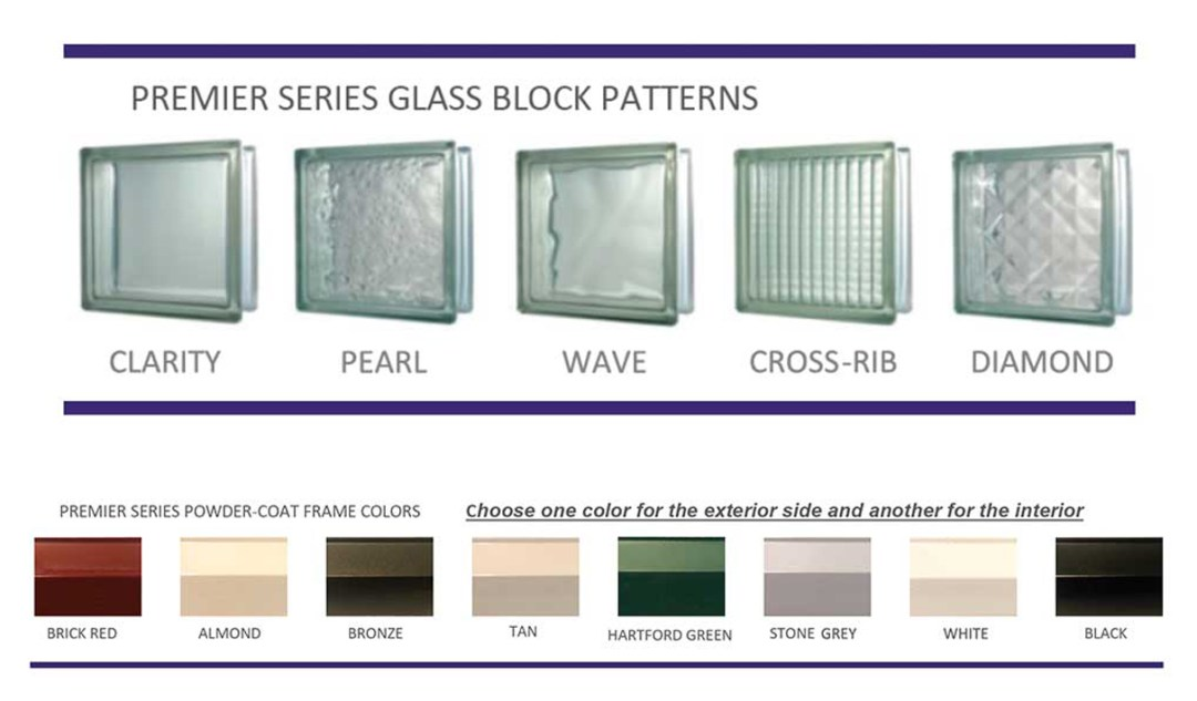 Custom Glass Block Windows