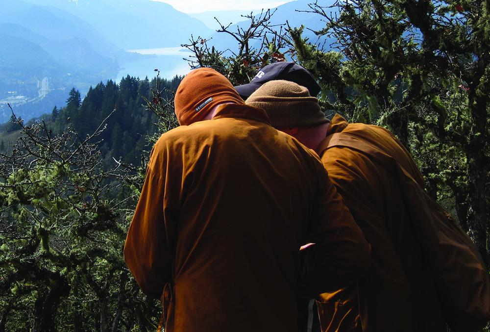 Buddhist monks planning future development of Pacific Hermitage