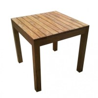 Outdoor Rustic Teak Dining Table | PacificHomeFurniture.com