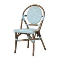 Paris Bistro Chair -Blue-Set of 2 | PacificHomeFurniture.com