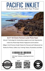 Pacific Inkjet 8x10 Premium Luster Image