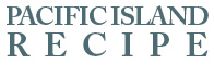pacific island recipe logo