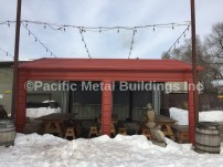 #5061 Box Eave Unit with 2 openings on each side. In Bend, Oregon