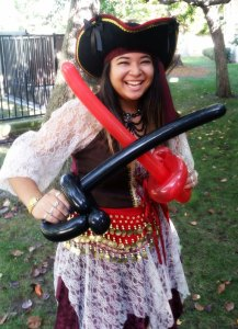 Pacific Party Services Pirate Entertainer