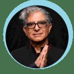 Deepak Chopra endorses mimi guarneri