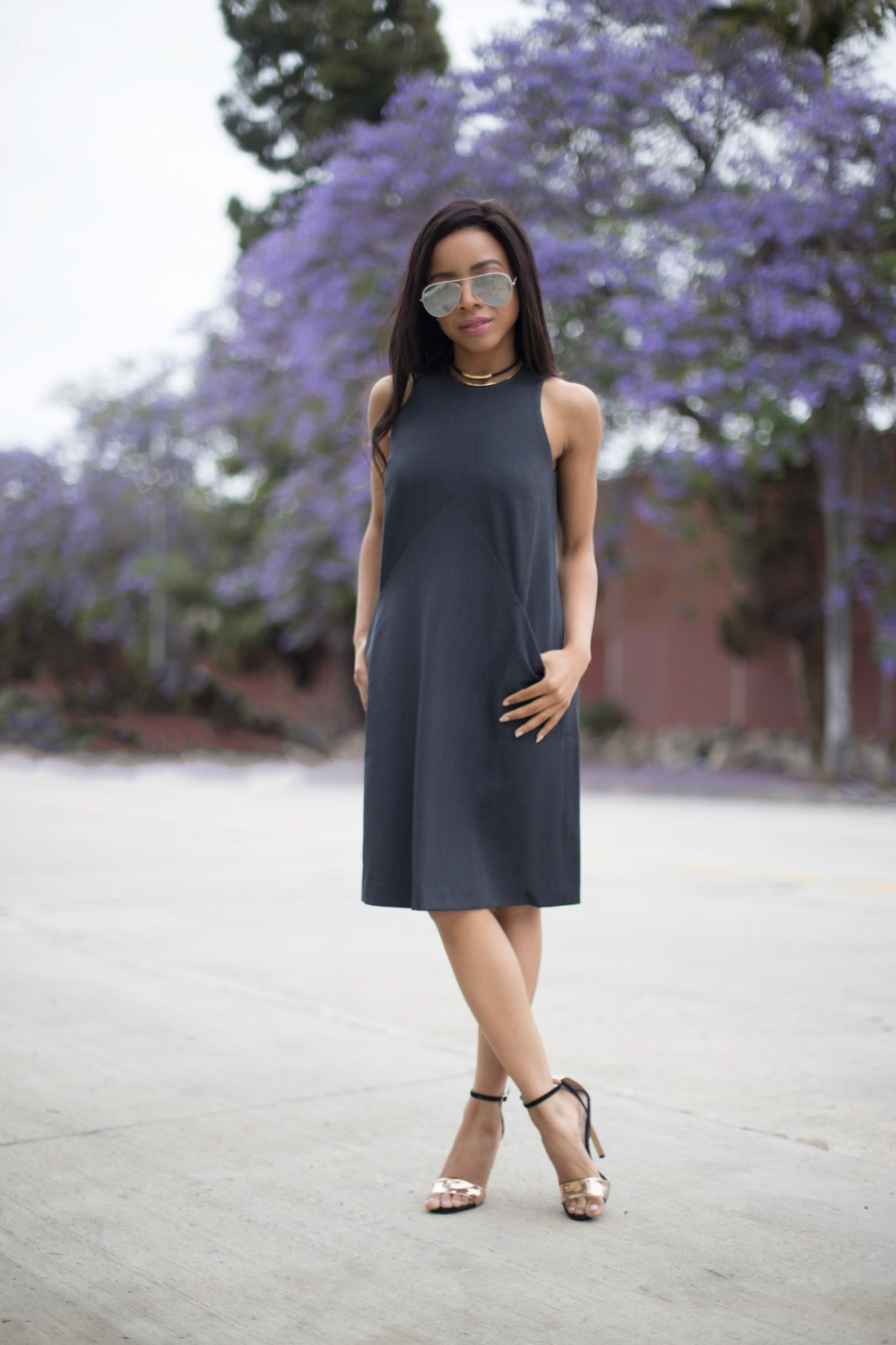 When To Wear Heels Business Casual Outfit For Petite Women