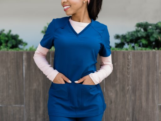 Petite scrubs lookbook
