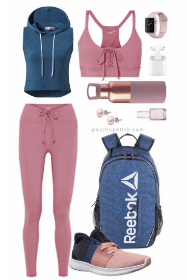 pink and purple Camouflage gym outfit (5)