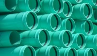 Pacific Plastics Inc.  Sewer SDR35 Green Gasketed