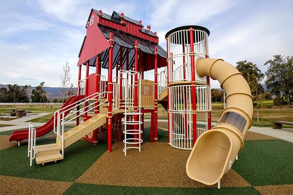 Redlands Riverside County playground equipment