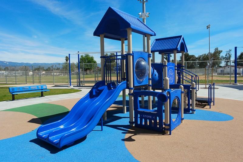 Bud Bender San Bernardino Playground Equipment