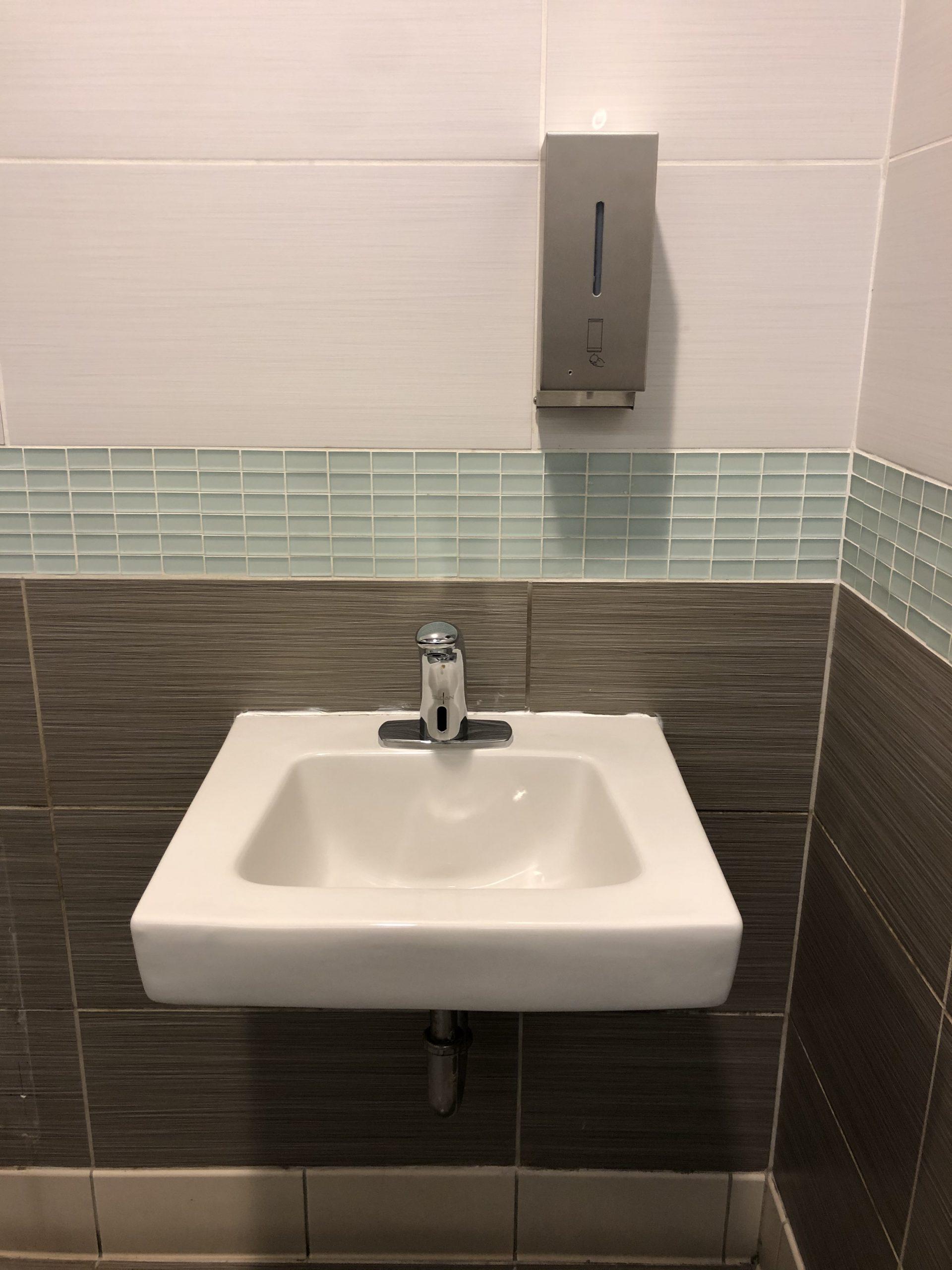 commercial bathroom fixture