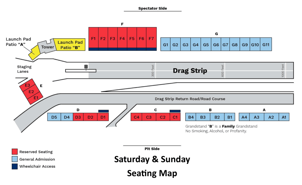 medium resolution of saturday and sunday seating map