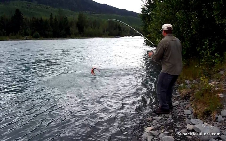 Mike Fishing Kenai River