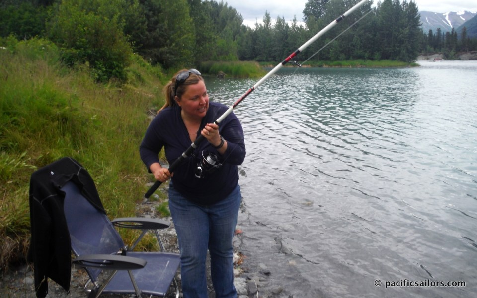 Verena Fishing Kenai River