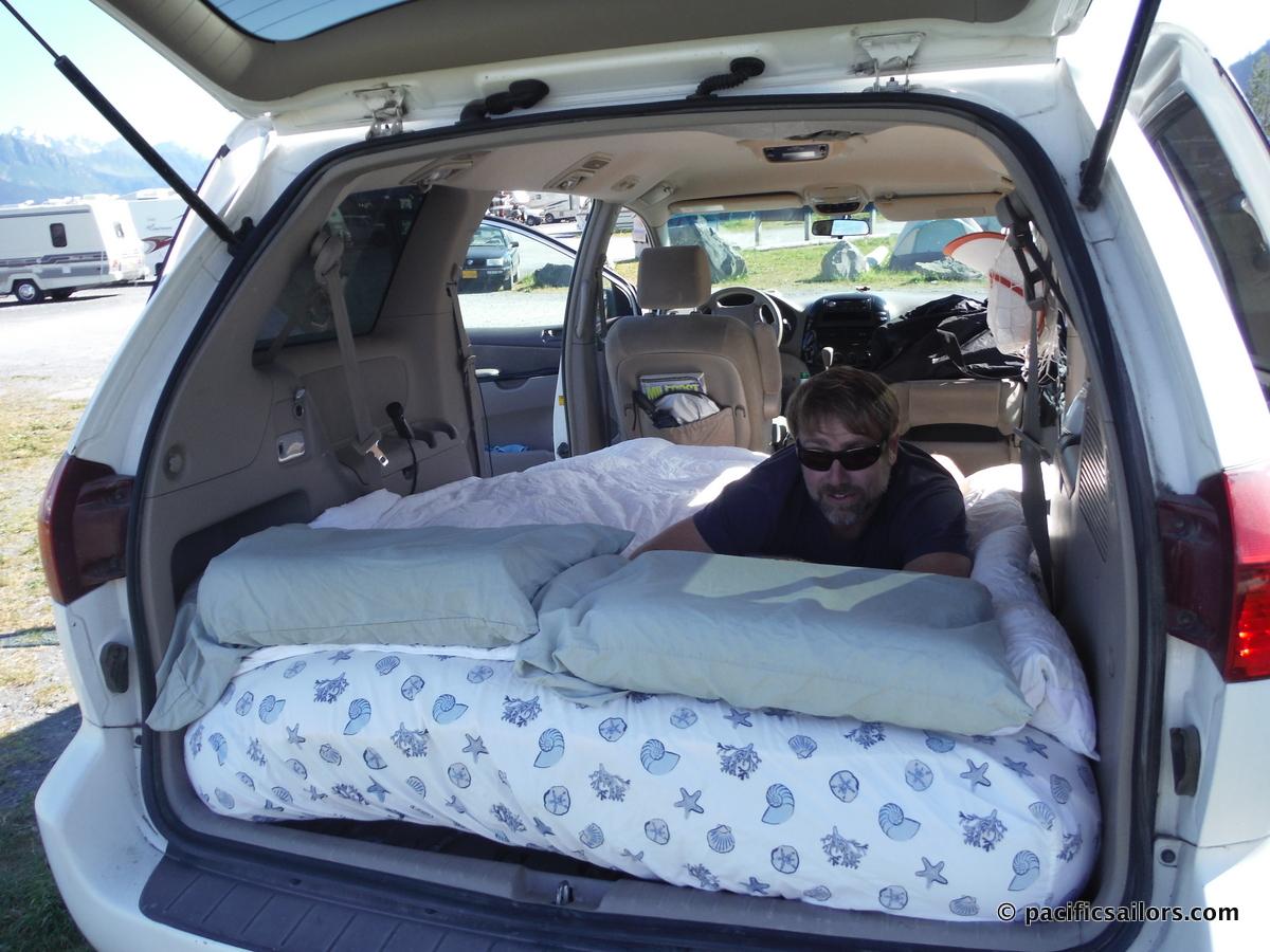 the minivan camper pacificsailors