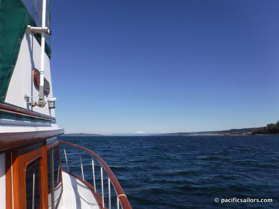 Sailing the Salish Sea, Puget Sound, Washington, Trawler Monk 36