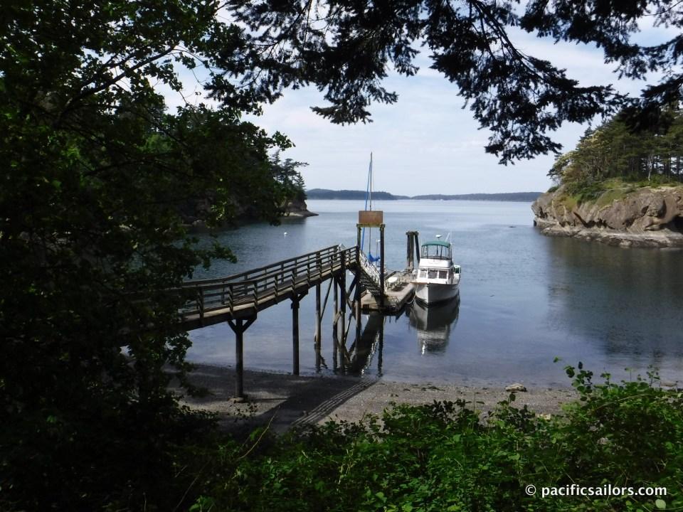 Matia Island dock
