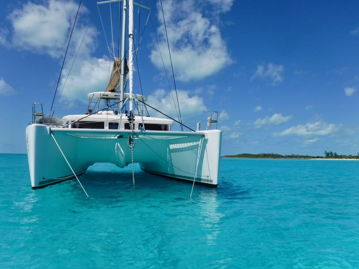 Cruising Bahamas aboard Lagoon 450 Catamaran