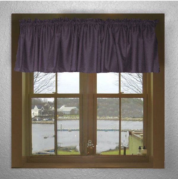 Purple Valances For Bedroom