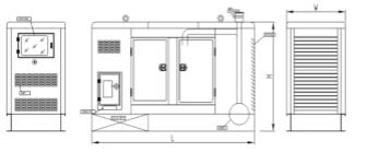 20kW Perkins Diesel Generator 404D-22G