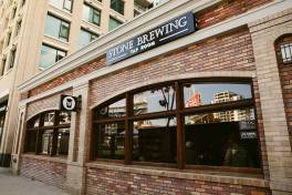 Stone Brewing Tap Room in Downtown San Diego