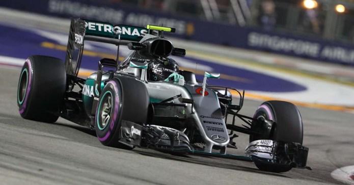 Rosberg Dominates To Secure Singapore Pole