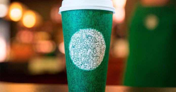 Green Starbucks Cup Enrages White Twitter Because Unity is Bad