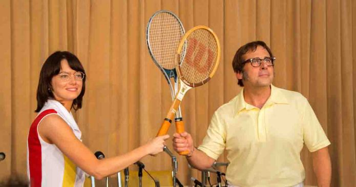 """Review: """"Battle of the Sexes"""" Combines Feminism and Tennis Into a Decent Comedy"""