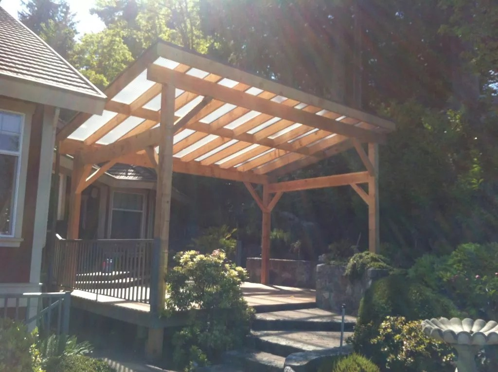 Wood Patio Cover Pacific View Windows And Doors