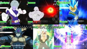 Dragon Ball Z Tenkaichi Tag Team Anime Crossover PPSSPP ISO Mod Android