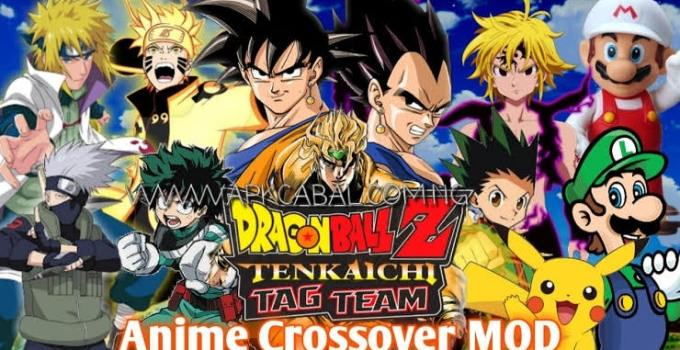 Dragon Ball Z Tenkaichi Tag Team Anime Crossover PPSSPP