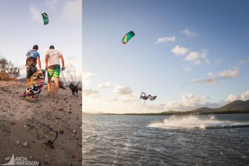 Kiteboarding in Palm Cove