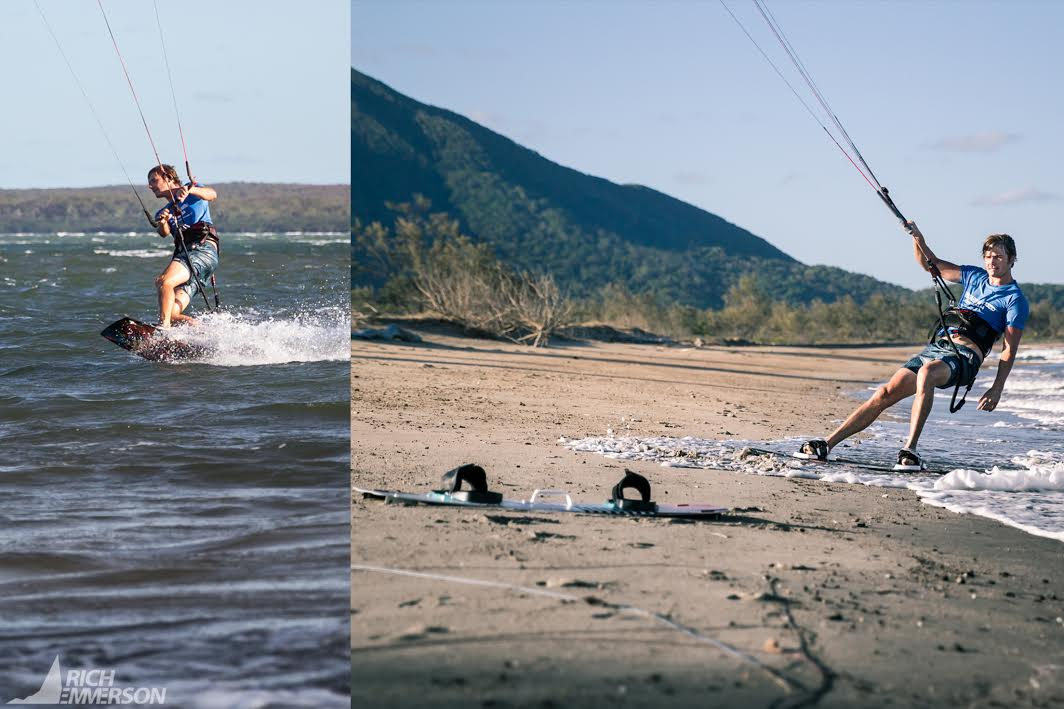 kiteboarding in Cairns