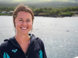 Lauren Fritz is a certified naturalist and ocean ambassador.
