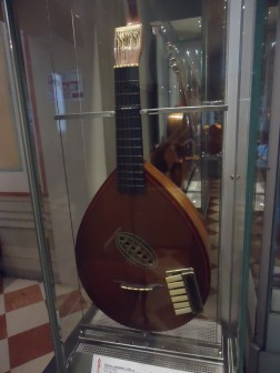 """Piano-guitar"" Found in the instrument collection at the Accademia"