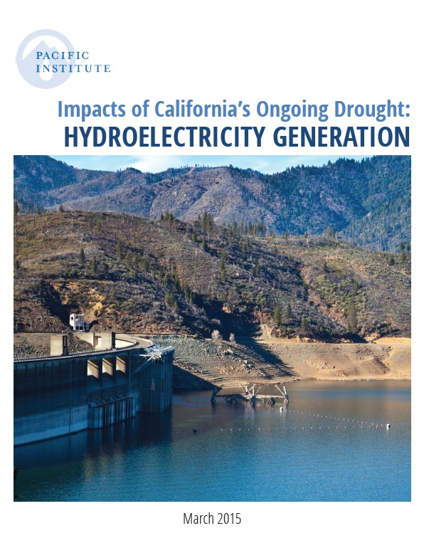 Impacts Of California S Ongoing Drought Hydroelectricity